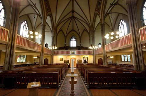 All Saints Vicars Eye View