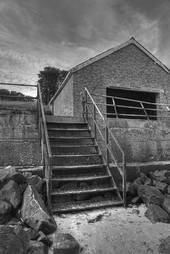 Shoeburyness Stairs by artwork rebel