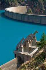 Diga Place Moulin (Luca Castellazzi) Tags: plane lago moulin diga