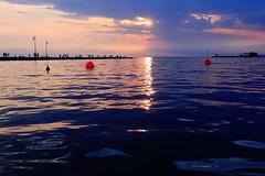 solvitur ambulando (ja°) Tags: walking tramonto mare infinito trieste moloaudace orizzonte camminare andare boecomeciliege