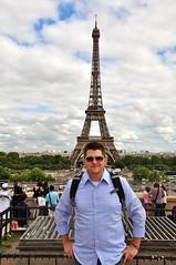 Troy at Eiffel Tower