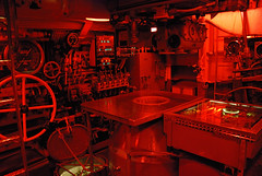 Das Boot (FrancoisMalan) Tags: sanfrancisco california bridge light red wheel boot control wheels dial submarine deck controls guages uboat hatch controlroom knobs redlight gauge uss dials helm gauges rudder gage periscope pampanito uboot gages dasboot greenboard