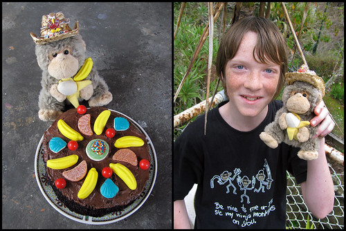 Chump Helps Celebrate Lewis's Birthday!
