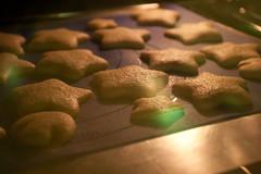 Invincibility star cookies (in progress)