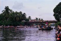 water tablo & vallamkali (Rebinson) Tags: india race boat kerala kochi snakeboat waterrace chambakkara vallamkali jalolsavam