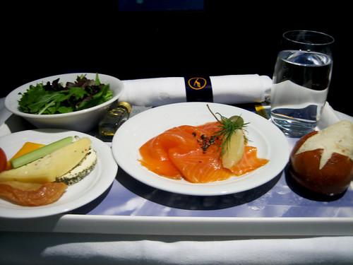 Lufthansa - Dinner