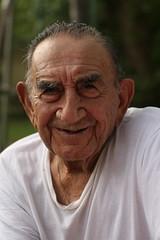 (dandanfields) Tags: old white smile shirt texas palestine ears east older years wrinkles generation 92 tio سكس