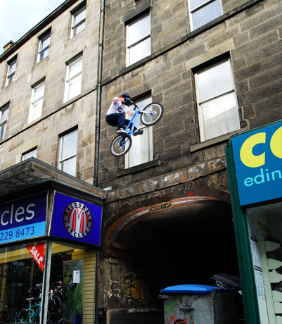 Danny MacAskill Action - Foto DanyMacAskill.co.uk