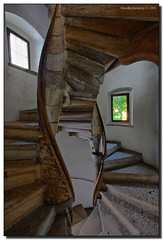 The Gothic Double Spiral Staircase (Fraggle Red) Tags: city castle austria sterreich staircase graz jpeg canonef1740mmf4lusm hdr steiermark burg styria 1499 3exp dphdr gothicdoublespiralstaircase