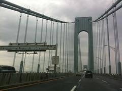 Attention NY, I'm in you. (markremarks) Tags: bridge newyork brooklyn roadtrip verrazanonarrows