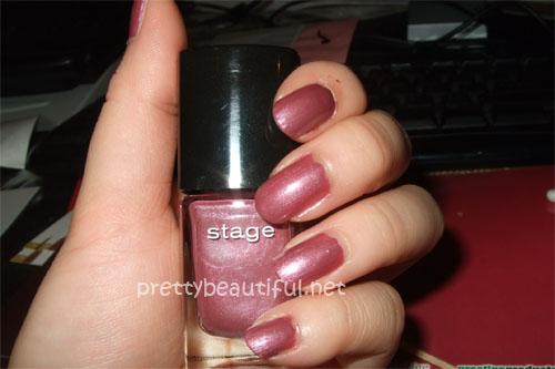 stage nail polish