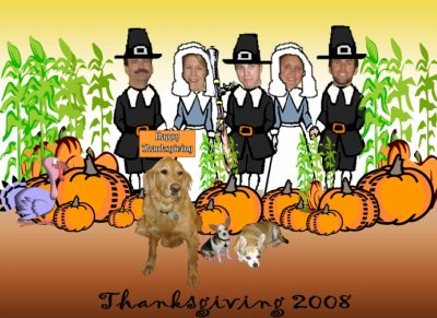 thanksgiving 2008 card