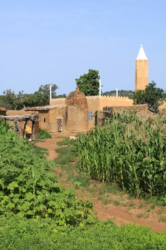 Village in central Burkina Faso.