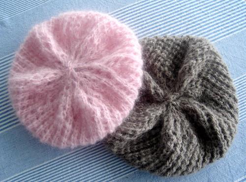 Cherry-comb berets