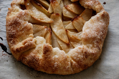 Baking At Home: A Simple Apple Galette