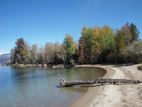 Fall Colors at Fremont Lake