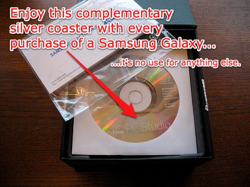 Samsung PC Suite - more use as a coaster