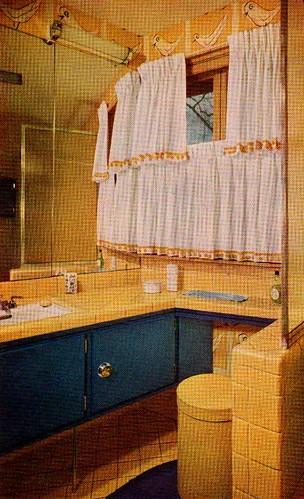 Yellow & Blue Bathroom