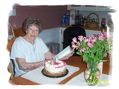My 79th birthday (bev10_99) Tags: from birthday camera flowers cake all susan celebrations cameron fred there were doc 79 1930 sept29