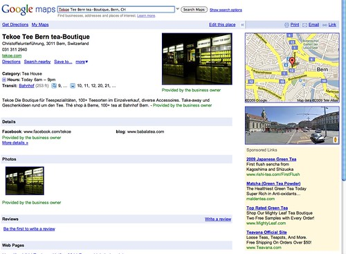 Google Maps Local Listings New