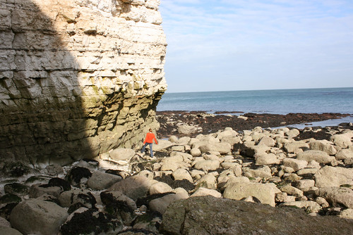 Me at Flamborough Head