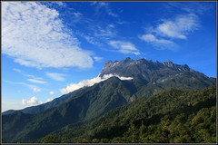 Mount Kinabalu (Joe__M) Tags: vacation sky mountain holiday clouds canon spectacular nationalpark asia awesome massive malaysia borneo huge kotakinabalu mountkinabalu impressive eos400d