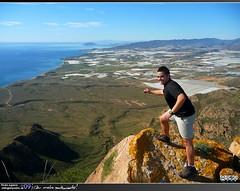 Tito y Sierra de las Moreras (Pedro Agüera) Tags: ruta minas playa sierra sancristobal monte montaña cartagena senderismo escalada sendero campillo mazarron bolnuevo moreras percheles laazohia sierradelasmoreras