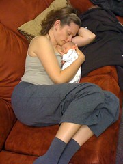 Naps are important for mommies and babies
