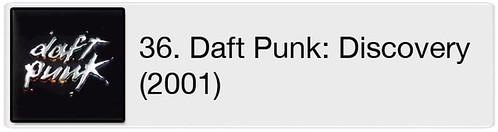 36. Daft Punk - Discovery (2001)