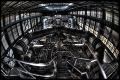 Iron Mantis (Romany WG) Tags: urban beautiful industrial decay 4 cell sigma fisheye explorers exploration derelict 15mm urbex ngte pyestock ubandoned freejetsupersonicwindtunnel