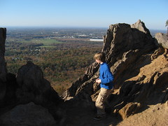 King\'s Pinnacle at Crowder Mountain SP Photo