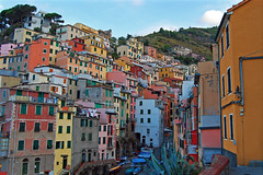 The Walk Through Riomaggiore (Atilla2008) Tags: houses italy coast interesting mediterranean colours village walk explore cinqueterre colourful amore steep riomaggiore nocars enchanting atilla cinqueterrevillage mygearandme mygearandmepremium mygearandmebronze mygearandmesilver