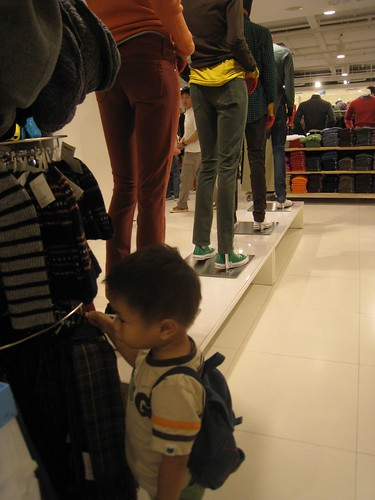 rafael said: why are the mannequins lining up?