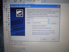Samba dialog window