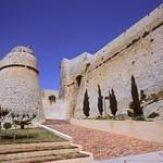Ibiza: Una de las puertas de acceso al recinto amurallado renacentista: PortalNou
