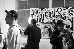 (thebadcharacter) Tags: graffiti design losangeles tshirt artshow patron cbs illustrators bashers xpres clothingindustry maxx242 nomadgallery