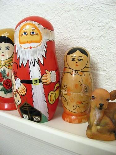 Santa matryoshka