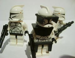 8_ Clone Trooper Squad (Alexander's Lego Gallery) Tags: light storm trooper bike rebel star ship desert lego space luke battle walker solo darth empire saber jedi stormtrooper anakin spaceship lightsaber wars vader vulture clone pilot sith han droid speeder chewbacca leia blaster skywalker rebels galactic organa speederbike
