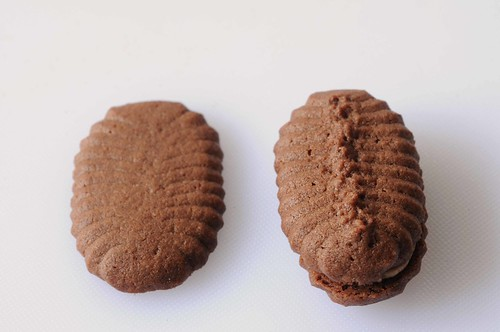 Homemade Chocolate Espresso Sandwich Cookies -- side by side.jpg