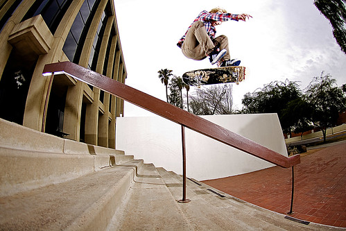 Caleb Schrank Hardflip Over Brick 8 Rail Edit