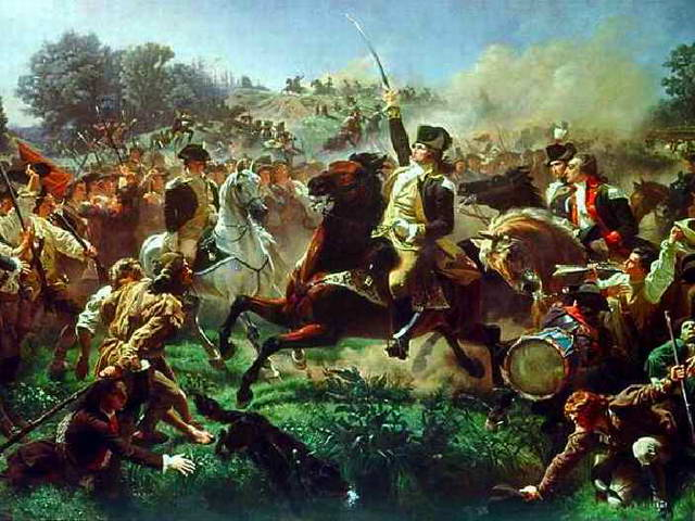 Emanuel Gottlieb Leutze's Washington Rallying the Troops at Monmouth