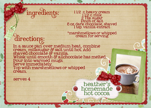 heather's homemade hot cocoa