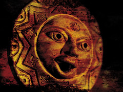 Sun in anger (gate2art) Tags: world red sun strange ancient anger end apocalyps