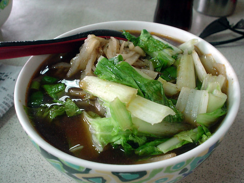 19.苗栗的天津牛肉麵:榨菜肉絲牛肉湯麵