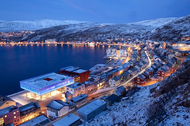 Den blå timen i Hammerfest