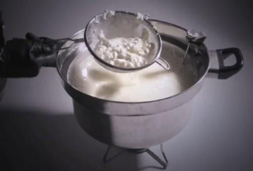 mozzarella maken