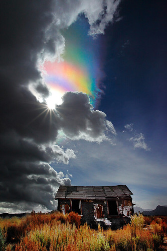 The Ice Crystal  Rainbow (Not), Lee Vining Ca