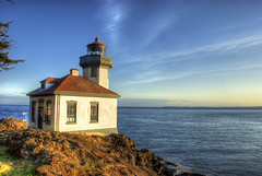 Lime kiln light house, San Juan Islands (WorldofArun) Tags: ocean sea lighthouse lake canada nature ferry architecture vancouver germany islands washington nikon northwest britishcolumbia shoreline victoria explore vancouverisland pacificocean worldwarii glaciers electricity whale pugetsound sanjuanislands remains marinemammal hdr strait mountbaker scientists orcas waterway garrison victoriabc fridayharbor limekiln archipelago fresnellens sanjuanisland lopezisland octagonal 18200mm washingtonstateferries olympicmountainrange photomatix harostrait whalemuseum orcawhale borderdispute fogsignal limekilnlighthouse limekilnstatepark treatyofwashington kaiserwilhelmi whalesanctuary d40x emeraldisles yenumula worldofarun sanjuanchannel arunyenumula majorshippingroute britishmilitarysite