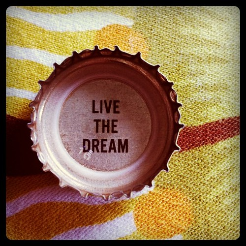 Bottle cap wisdom