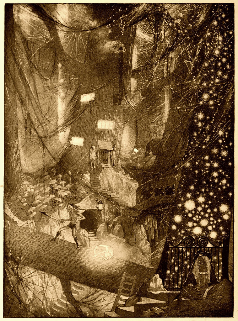 Sidney Sime - The Ominous Cough (1912)